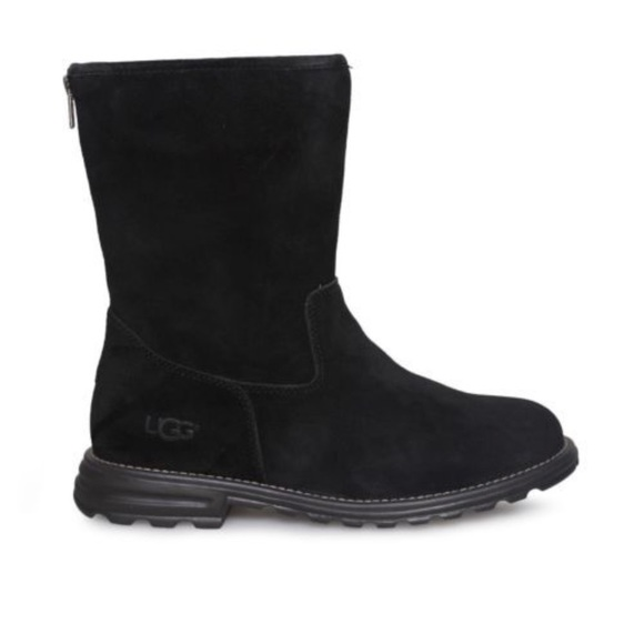 bff9c623736 New Ugg Langley Black Suede boots 🔥SALE🔥Sz 6